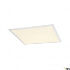 SLV LED PANEL 600x600 LED recessed ceiling light white 3000K 1003083