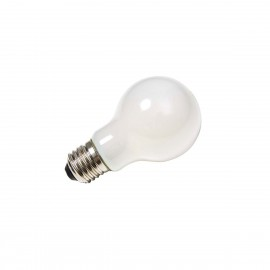 SLV LED lamp A60 E27 2700K 810lm 270° dimmable frosted glass 1003090