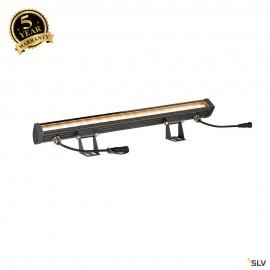 SLV GALEN 60 SP Indoor single colour LED profile anthracite CCT switch 3000/4000K 1003447