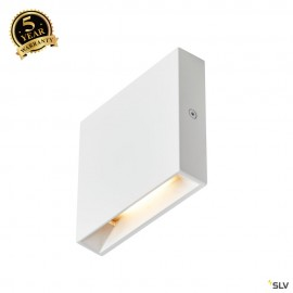 SLV QUAD FRAME 9 indoor LED recessed wall light 3000K white 1003466