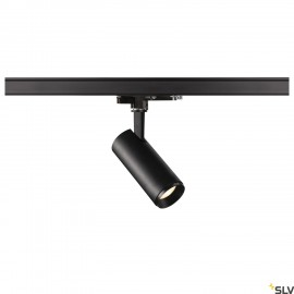 SLV NUMINOS DALI Dimmable S 3 phase system light black/black 3000K 24° 1004370