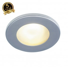 SLV 111008 DOLIX OUT MR16 ROUND downlight, silver-grey,max. 35W