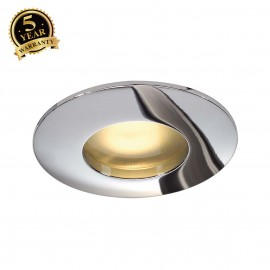 SLV 111018 OUT 65 downlight, round,chrome, MR16, max. 35W
