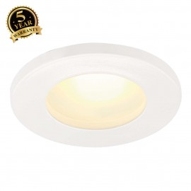 SLV 111021 DOLIX OUT GU10 ROUND downlight, white, max. 35W