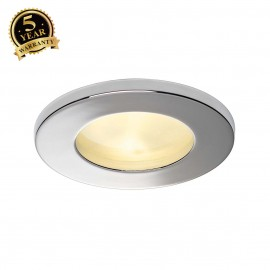 SLV 111022 DOLIX OUT GU10 ROUND downlight, chrome, max. 35W