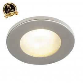 SLV 111027 DOLIX OUT GU10 ROUND downlight, titanium, max. 35W