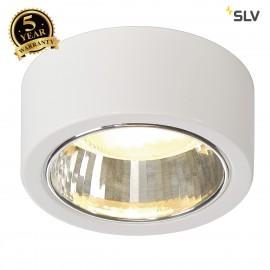 SLV 112281 CL 101 GX53 ceiling light,round, white, max. 11W