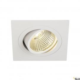 SLV 113911 NEW TRIA DL SQUARE SET,downlight, matt white, 6W, 38°, 3000K, incl. driver,