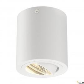 SLV 113931 TRILEDO ROUND CL ceiling light, matt white, LED, 6W, 38°,3000K, incl. driver