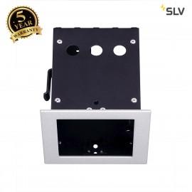 SLV 115304 AIXLIGHT PRO 50 1 FRAMEinstallation housing,silver-grey/black