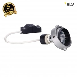 SLV 115414 GU10 MODULE for AIXLIGHT PRO50 installation housing,silver-grey / black, max. 50W