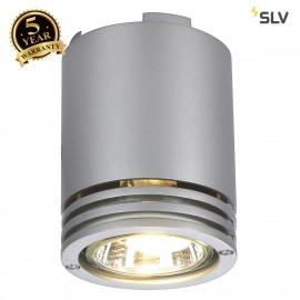 SLV 116202 BARRO ceiling light, CL-1,silver-grey, GU10, max. 50W