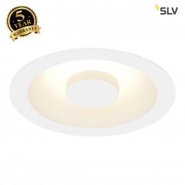 SLV 117331 COMFORT CONTROL LED, recessedfitting, indirect, white