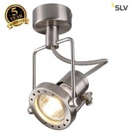 SLV 131108 N-TIC SPOT 230V wall andceiling light, chrome matt,GU10, max. 50W