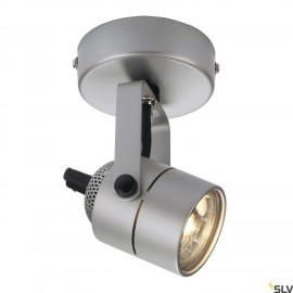 SLV 132024 SPOT 79 230V wall and ceilinglight, silver-grey, GU10, max.50W