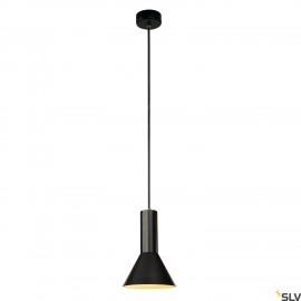 SLV 133300 PHELIA S PENDANT, black, E27,max. 23W