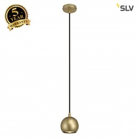 SLV 133493 LIGHT EYE BALL pendant, brass,GU10, max. 5W