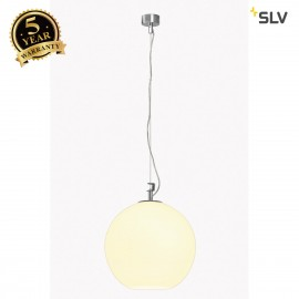 SLV 133581 BIG SUN pendant, alu/white,E27, max. 75W