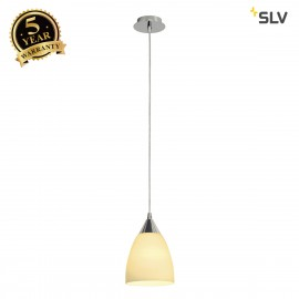 SLV 133661 ORION S pendant, white, E14,max. 40W, glass