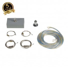 SLV 133834 Suspension kit for MEDO 60SQUARE, silver-grey
