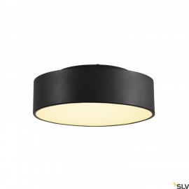 SLV 135020 MEDO 30 LED ceiling light,black, optionally suspendable