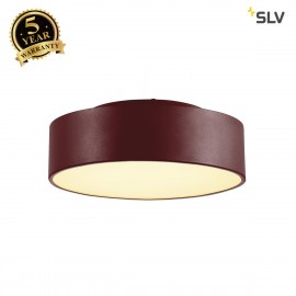 SLV 135026 MEDO 30 LED ceiling light,wine red, optionallysuspendable