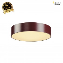 SLV 135076 MEDO 40 LED ceiling light, SMDLED, 3000K, wine red, incl.driver, optionally suspendable