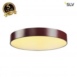 SLV 135126 MEDO 60 LED ceiling light, SMDLED, 3000K, wine red, incl.driver, optionally suspendable