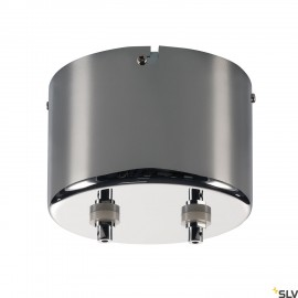 SLV 138992 TRANSFORMER, for TENSEO low-voltage cable system, chrome, 210VA