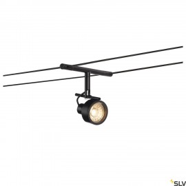 SLV 139130 SALUNA, cable luminaire for TENSEO low-voltage cable system, QR-C51, black