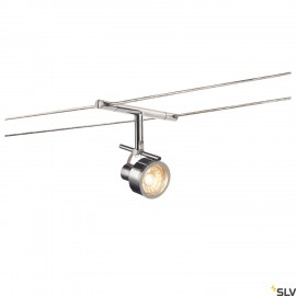 SLV SALUNA, cable luminaire for TENSEO low-voltage cable system, QR-C51, chrome