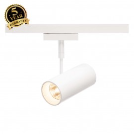 SLV 140231 REVILO, spot for SLV D-TRACK 2-phase high-voltage track, LED, 3000K, white, 36°, incl. 2-phase adapter