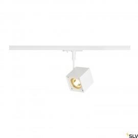 SLV ALTRA DICE SPOT, square, white , GU10, max. 50W, incl. 1-circuit adapter 143351