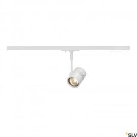 SLV BIMA I lamp head, matt white, GU10, max. 50W, incl. 1- circuit adapter 143441