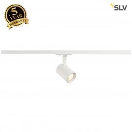 SLV 143571 DEBASTO Spot, white, 8W, 3000K, incl. 1-circuit adapter