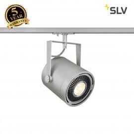 SLV EURO SPOT ES111, silver-grey, max. 75W, incl. 1-circuit adapter 143804
