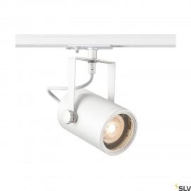 SLV EURO SPOT GU10, white, max. 25W, incl. 1-circuit adapter 143811
