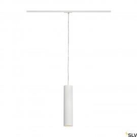 SLV ENOLA_B PD-1 pendant, white, GU10, max. 50W, incl. 1-circuit adapter 143961