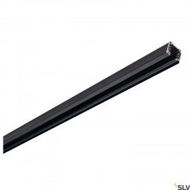 SLV 145100 EUTRAC 3-circuit track, black,1m