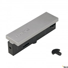 SLV 145534 EUTRAC central power feed,silver-grey