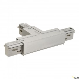 SLV 145644 EUTRAC T-connector earth right, silver-grey