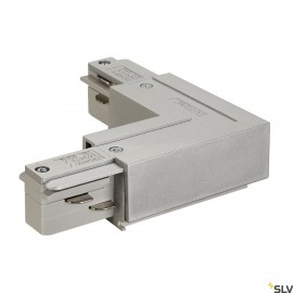 SLV 145684 EUTRAC L-connector, innerearth, silver-grey