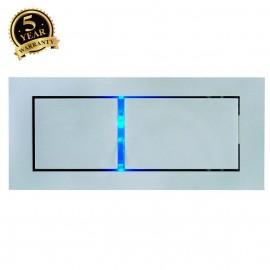 SLV 146240 BEDSIDE LEFT recessed walllight, silver-grey, 3W LED,4000K, blue orientation LED