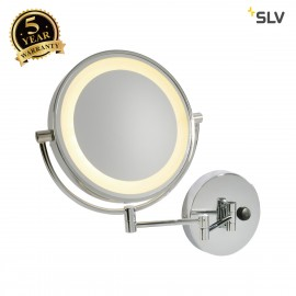 SLV 149782 VISSARDO wall light, makeupmirror, chrome/glass, SMD LED3000K