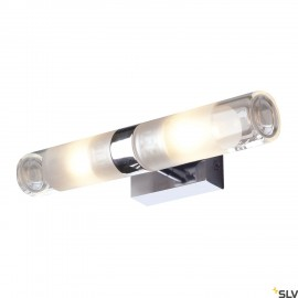 SLV 151282 MIBO WALL UP-DOWN, chrome, 2xG9, max 2x 25W, IP21