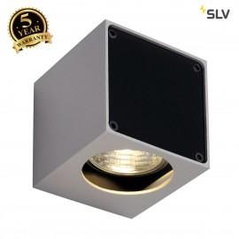 SLV 151504 ALTRA DICE WL-1 wall light,square, silver-grey/black,GU10 , max. 35W