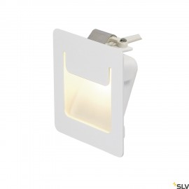 SLV 151950 DOWNUNDER PURE recessed,square, white, 3.6W LED, 3000K, 80x80mm
