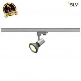 SLV 152204 E27 SPOT, silver-grey, max.75W , incl. 3-circuit adapter
