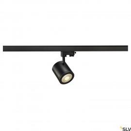 SLV ENOLA_C 9 SPOT, round, black, 9W, 3000K, 55°, incl. 3- circuit adapter 152430