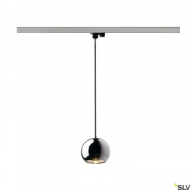 SLV 153112 LIGHT EYE pendant, chrome,GU10, max. 75W, incl.3-circuit adapter